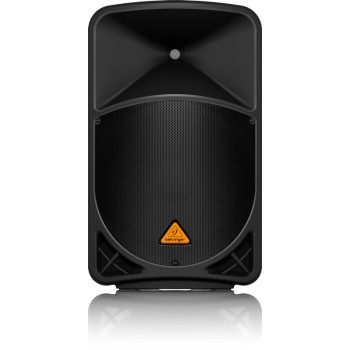 """caja acustica activa 1000-W y 2 vías de 15 """"con reproductor de MP3, opción inalámbrica y un mezclador integrado.BEHRINGER"""