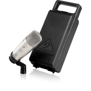 MICRÓFONO ESTUDIO CARDIOIDE, Micrófono de condensador para estudio BEHRINGER