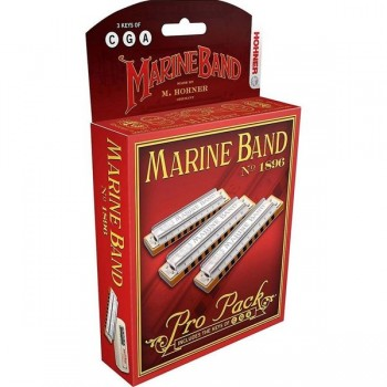 Armónicas Marine Band 1896 Pro Pack