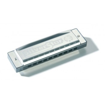 Hohner Armónica Silver Star (Do Blues)