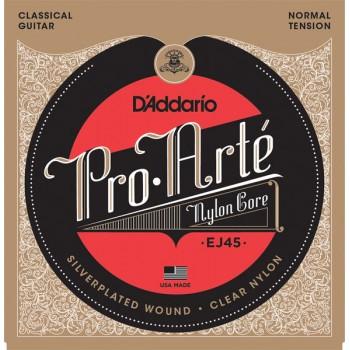 D'Addario Cuerdas Guitarra Clásica Pro-Arte, Tensión Normal