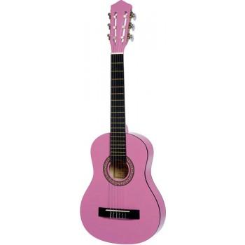 Guitarra Clásica Niño Color Rosado
