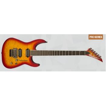 GUITARRA ELECTRICA Pro Soloist™ SL2Q MAH, Ebony Fingerboard, Burnt Cherry Sunburst JACKSON